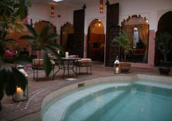 安雅庭院旅馆 - 马拉喀什 - 游泳池