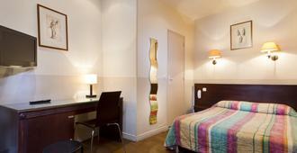 巴黎北站梅尔里勒酒店 - 巴黎 - 睡房