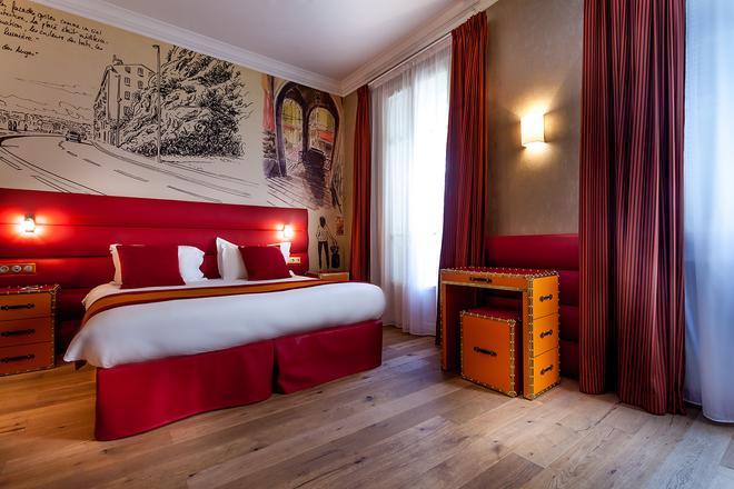 尼斯城堡连锁酒店 - 尼斯 - 睡房