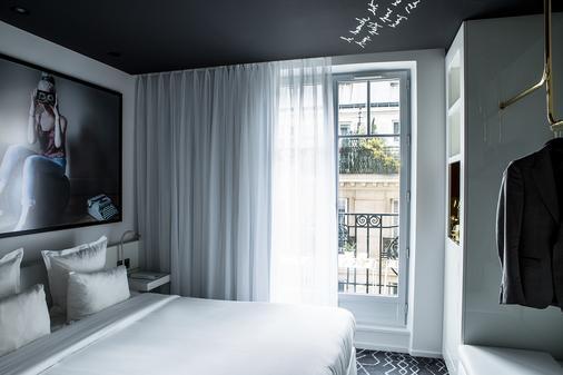 杰内若酒店 - 巴黎 - 睡房