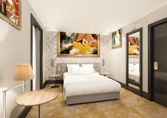 艾菲尔小罗浮酒店 - 巴黎 - 睡房