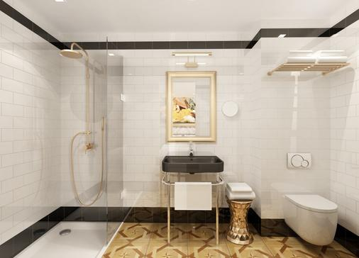 埃菲尔小卢浮宫酒店 - 巴黎 - 浴室