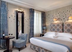 帕维耶酒店 - 圣艾米隆 - 睡房