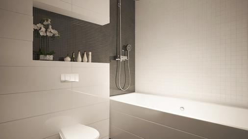 托马斯阿尔伯特酒店 - 基希訥烏 - 浴室