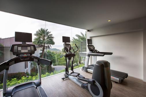 曼特拉苏梅度假村 - 苏梅岛 - 健身房