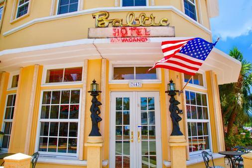 波罗的海酒店 - 迈阿密海滩 - 建筑