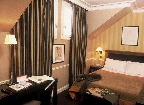 维克多利尔剧院酒店 - 巴黎 - 睡房