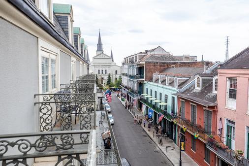 波旁奥尔良酒店 - 新奥尔良 - 阳台