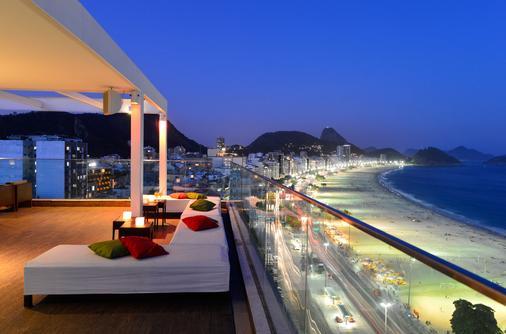 佩斯塔纳大西洋海滨酒店 - 里约热内卢 - 阳台
