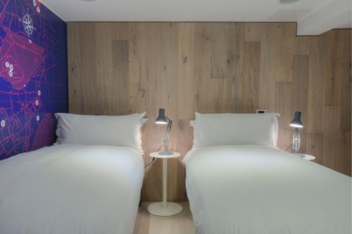 格拉斯广场酒店 - 爱丁堡 - 睡房