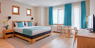 萨拉热窝阿兹札酒店 - 萨拉热窝 - 睡房