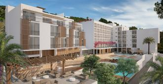 Od塔拉曼卡酒店 - 伊维萨镇 - 建筑