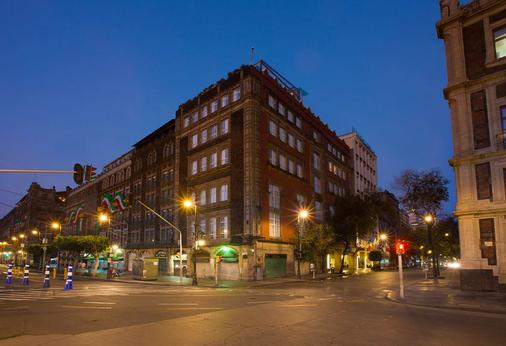 索卡洛中心酒店 - 墨西哥城 - 建筑