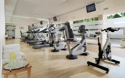 H10征服者酒店 - 美洲海滩 - 健身房