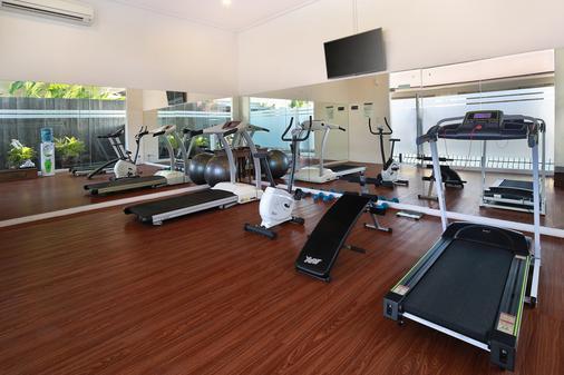 雷诺特尔豪宅C精品酒店及水疗中心 - North Kuta - 健身房