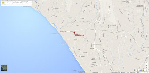 雷诺特尔豪宅C精品酒店及水疗中心 - North Kuta - 地图