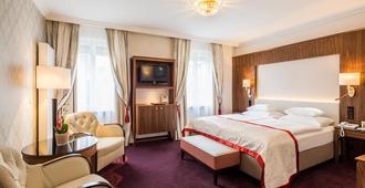 斯泰法尼酒店 - 维也纳 - 睡房