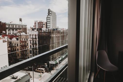 诺里顿酒店 - 纽约 - 阳台