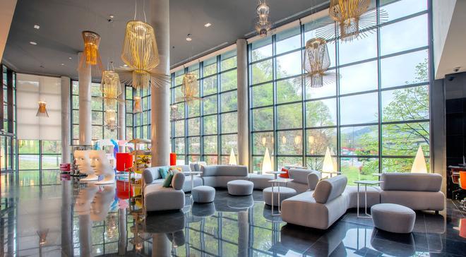 毕尔巴鄂格兰酒店 - 毕尔巴鄂 - 大厅