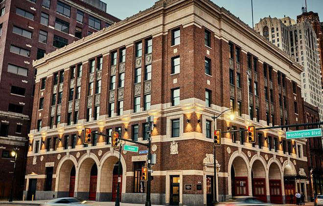底特律基石酒店 - 底特律 - 建筑