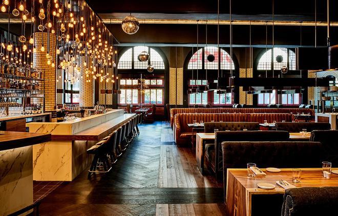 底特律基石酒店 - 底特律 - 酒吧