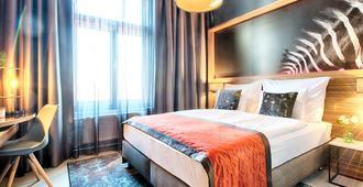 布拉格福星酒店 - 布拉格 - 睡房