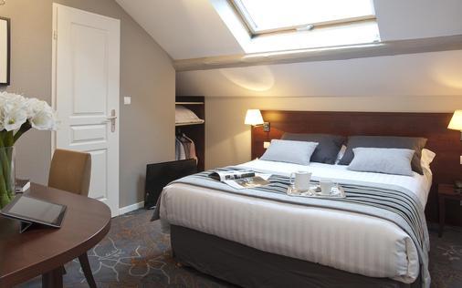 阿洛布罗基斯公园酒店 - 阿讷西 - 睡房