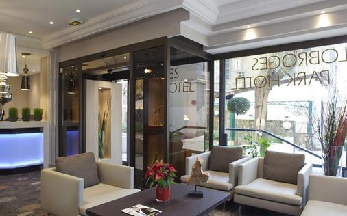 阿洛布罗基斯公园酒店 - 阿讷西 - 大厅