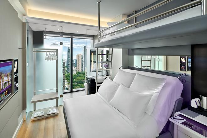 新加坡乌节路优特尔酒店 - 新加坡 - 睡房