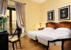 加富尔大酒店 - 佛罗伦萨 - 睡房