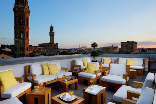 加富尔大酒店 - 佛罗伦萨 - 阳台