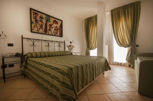 莫利斯科蓝色乡村酒店 - 阿尔扎凯纳 - 睡房