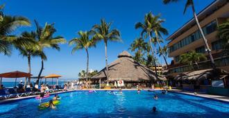 拉斯帕尔马斯海滨酒店 - 巴亚尔塔港 - 游泳池