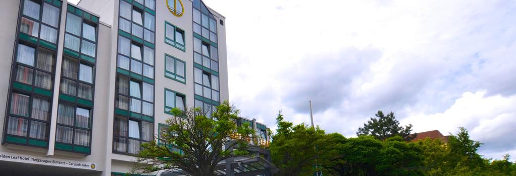 金叶斯图加特机场和展览中心酒店 - 斯图加特 - 建筑