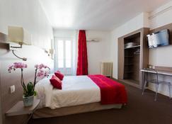 欧洲格勒诺布尔超级中心酒店 - 格勒诺布尔 - 睡房