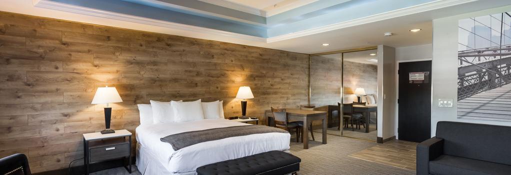 罗乌酒店 - 圣何塞 - 睡房