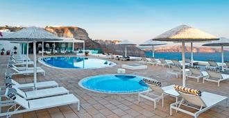 圣托里尼岛百合别墅酒店 - 费拉 - 游泳池