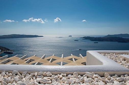 圣托里尼岛百合别墅酒店 - 费拉 - 阳台