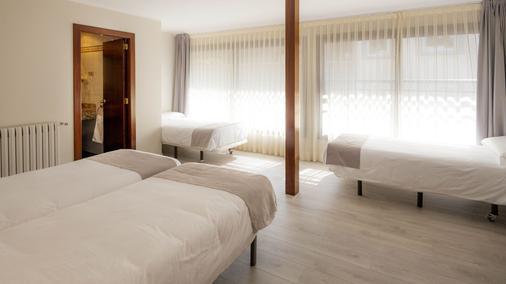 图德尔酒店 - 莱塞斯卡尔德-恩戈尔达 - 睡房