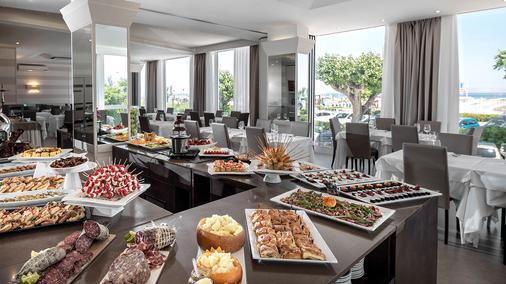 比安卡别墅酒店 - 里米尼 - 自助餐