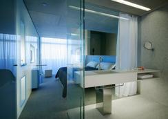 美国之门G.L希尔肯酒店 - 马德里 - 睡房