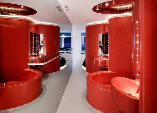 希尔肯门美洲酒店 - 马德里 - 浴室