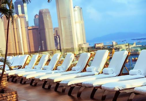 香港万丽海景酒店 - 香港 - 健身房
