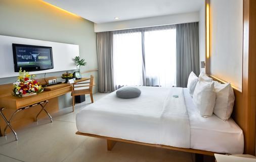 黑文巴厘岛水明漾酒店 - 库塔 - 睡房
