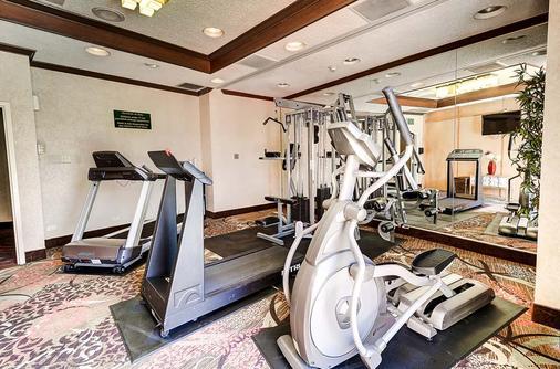 丹佛中央品质酒店 - 丹佛 - 健身房