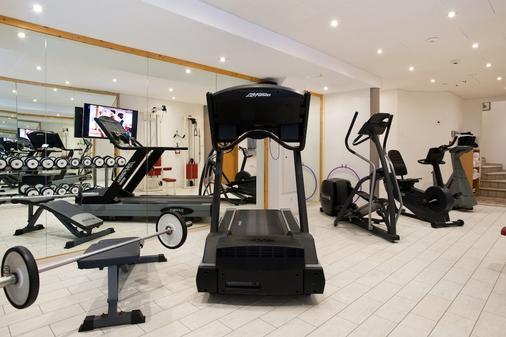 阿巴娜酒店 - 采尔马特 - 健身房