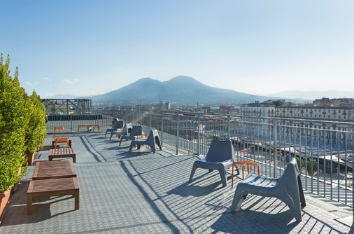 那不勒斯加富尔酒店 - 那不勒斯 - 阳台