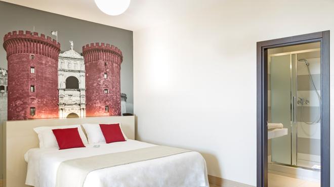 那不勒斯加富尔酒店 - 那不勒斯 - 睡房