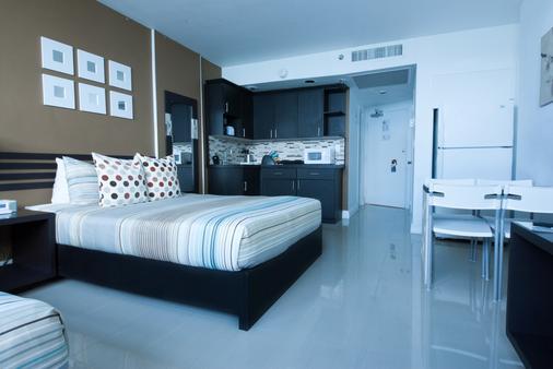迈阿密海滩设计套房酒店 - 迈阿密海滩 - 睡房