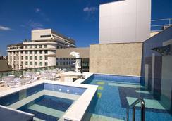 大西洋商务中心酒店 - 里约热内卢 - 游泳池